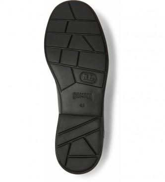 CAMPER Neuman sapatos de couro preto