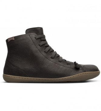 CAMPER Peu Cami leather ankle boots black