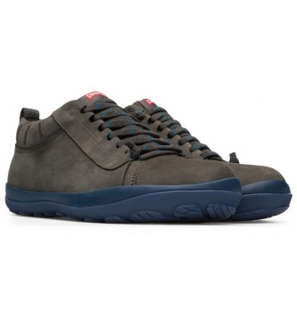 CAMPER Peu Pista GM leather sneakers grey, blue