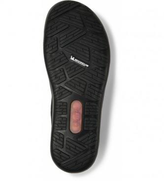 CAMPER Peu Pista black leather shoes