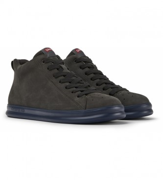 CAMPER Zapatillas de piel Runner Four gris oscuro