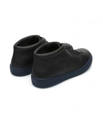 CAMPER Zapatillas de piel Peu Toruring  negro