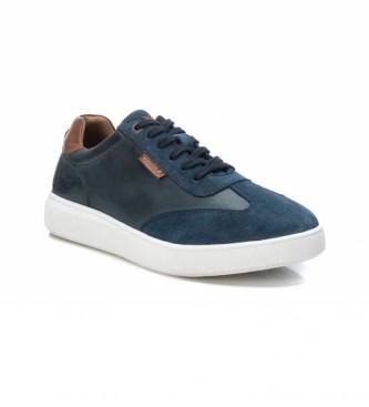 Carmela Sapatilhas de couro 067872 azul