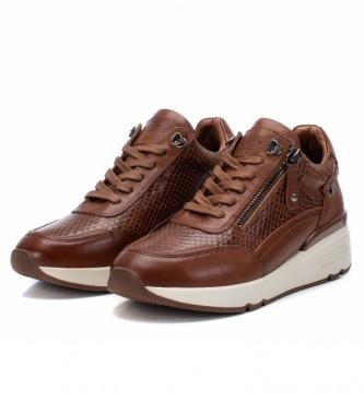 Carmela Sneakers in pelle 067968 cammello