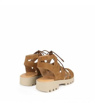 Chika10 Sandalias de piel Marion 01 cuero