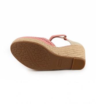 Chika10 Sandálias Nadia 15 nuas - Altura da cunha: 8cm