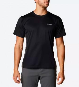 Columbia Camiseta Zero Ice Cirro-Cool negro
