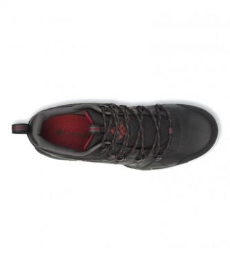 Columbia Peakfreak Venture Chaussures en cuir imperméables noires