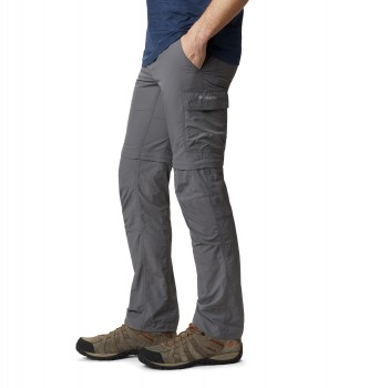 Columbia Pantalones Silver Ridge II Convertible gris / Polartec® / Alpha® /