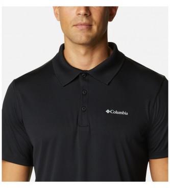 Columbia Polo à manches courtes Zero Rules noir