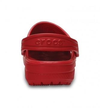 Crocs Zoccoli classici Clog K rossi
