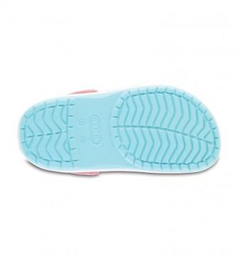 Crocs Crocband Clog K tamancos azul claro