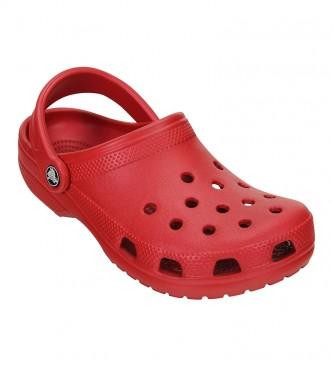 Crocs Clogs Unisex Classic Clog U red