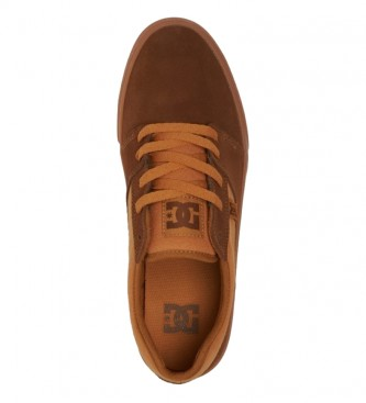 DC Shoes Tonik navy leather sneakers