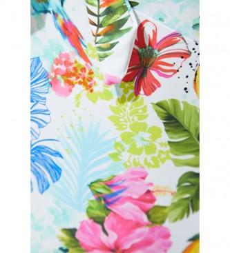 Desigual Honolulu swimsuit white, multicolor