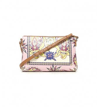 Desigual Boho Urban shoulder bag pink, multicolour -27.2x4x17.5cm