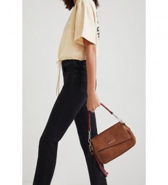 Desigual Deja Vu Phunket mini camel sac à bandoulière -22,50x10,50x15cm