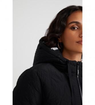 Desigual Padded Snow Jacket black