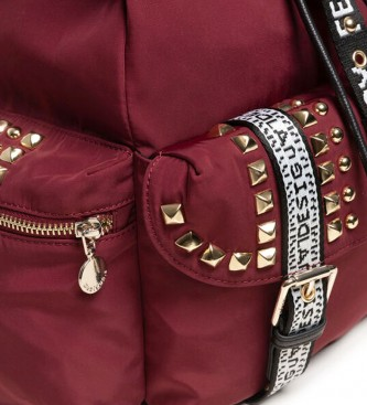 Desigual Backpack Bright Rock Tribeca burgundy -36x29x15.5cm