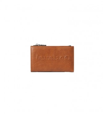 Desigual Emma brown coin purse -16x9.9x2cm