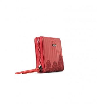 Desigual Sac à main Mandarala Fiona rouge -20x2x10cm