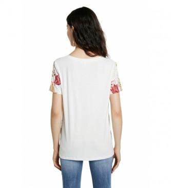 Desigual Camiseta TS Praga blanco