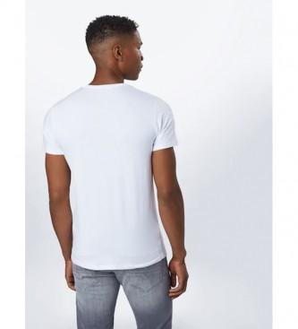 Diesel Lot de 3 T-shirts Umtee Randal blanc