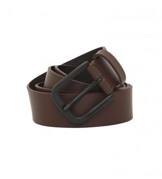 Diesel Cintura in pelle B-Boldy marrone