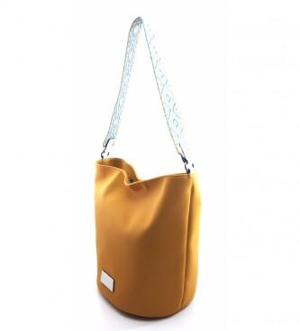 Dimoni AC987STTOMO Mustard Shoulder Bag -29x25x20cm