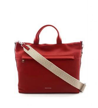 Dimoni Cherry leather handbag -36 x 29 x 15 cm