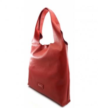 Dimoni Cherry leather handbag -36 x 34 x 7 cm-.