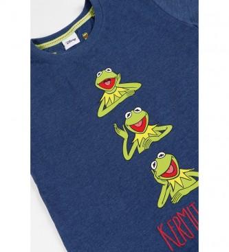 Disney Pijama Manga Corta Kermit The Frog azul