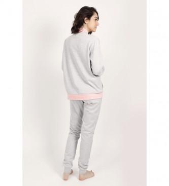 Disney & Friends Pyjama rose à manches longues Minnie Sport