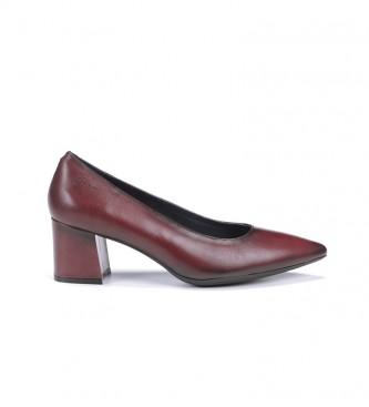 Dorking Sofi D7720 Sapatos de couro de bordeaux com açúcar - Altura do calcanhar: 5,5 cm