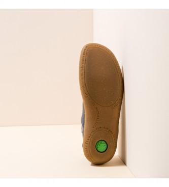 EL NATURALISTA Sapatos de couro N275 El Viajero Marine