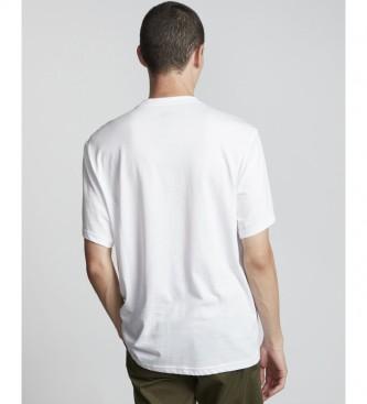 ELEMENT Camiseta Boro blanco