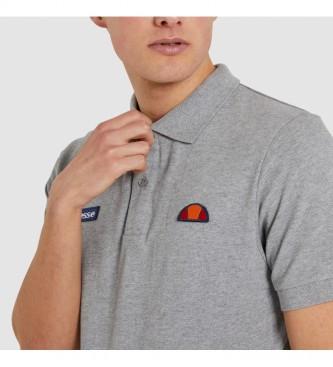 Ellesse Grey saddle polo shirt