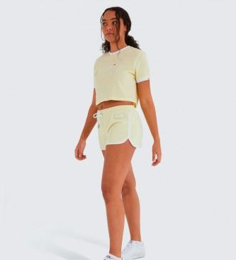 Ellesse Vediamo pantaloncini giallo pastello