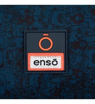 Enso Enso Monsters Triple Zip Case -22x10x9cm