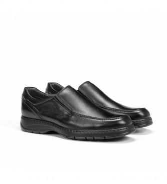 Fluchos Zapatos de piel 9144 Crono negro