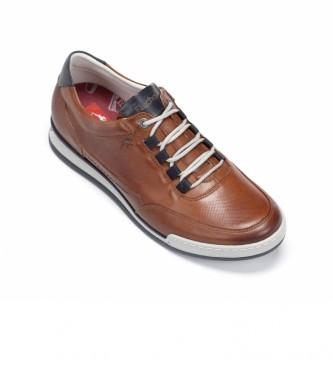 Fluchos Sapatos de couro F0146 Castanho Havana