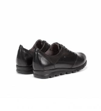 Comprar Fluchos Zapatos de piel Susan F0354 negro Tienda