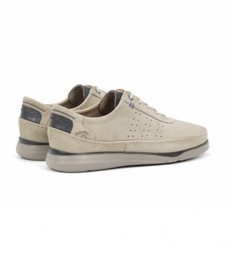 Fluchos Sapatos de couro F0464 Cross Marmota