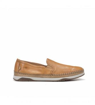 Fluchos Zapatos de piel Kendal F0814 marrón