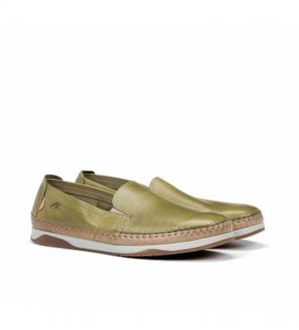 Fluchos Kendal Leather Shoes F0814 green