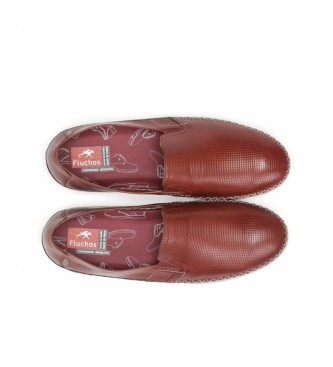 Fluchos Sapatos de Couro Kendal F0814 terracotta