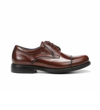 Fluchos Sapatos de couro Waldo F1097 Castanho Premium