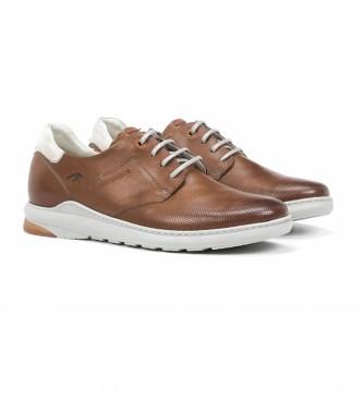 Fluchos Sneakers in pelle F1159 Gange marrone
