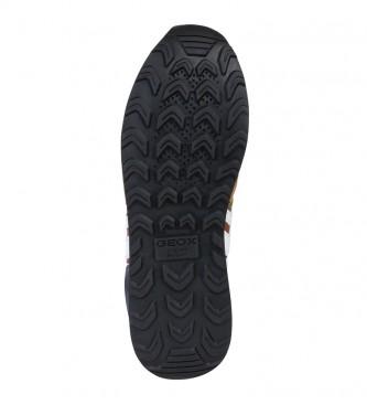 caravana Excéntrico empujar  Comprar GEOX Zapatillas Vincit marrón - Tienda Esdemarca moda, calzado y  complementos - zapatos de marca y zapatillas de marca
