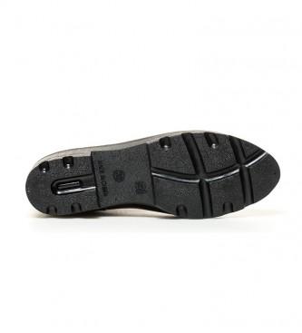 Gioseppo Galochas Chelsea black cana-height: 11cm-